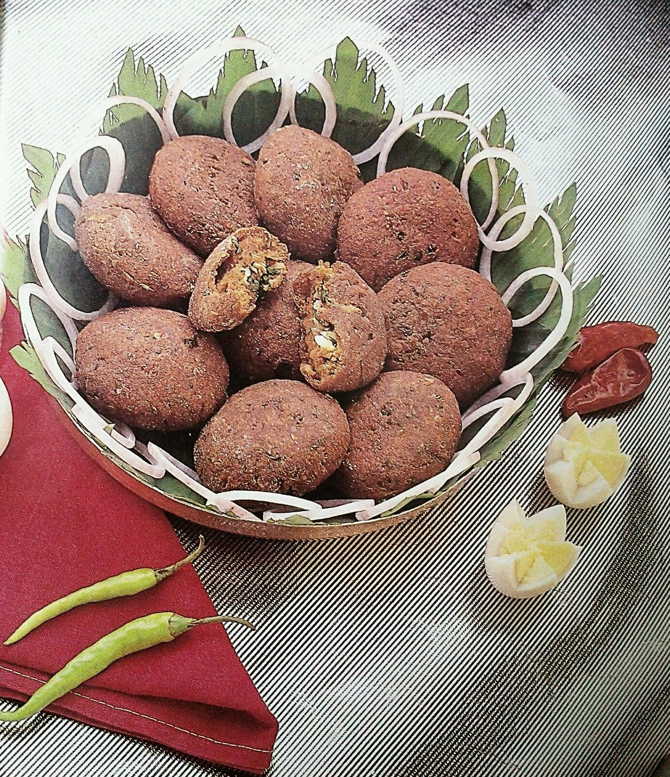 Egg Dipped Minced Mutton Patty